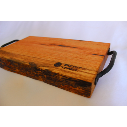 Mountain Ash - Bread Board with Handles
